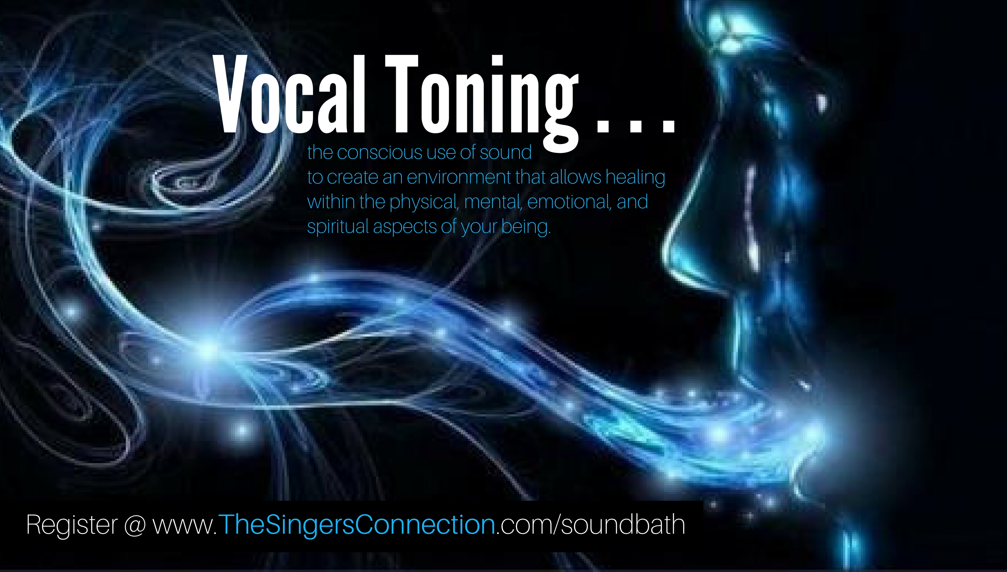 Learn how to use your voice with intention to create an environment that allows healing within the physical, mental, emotional, and spiritual aspects of your being.