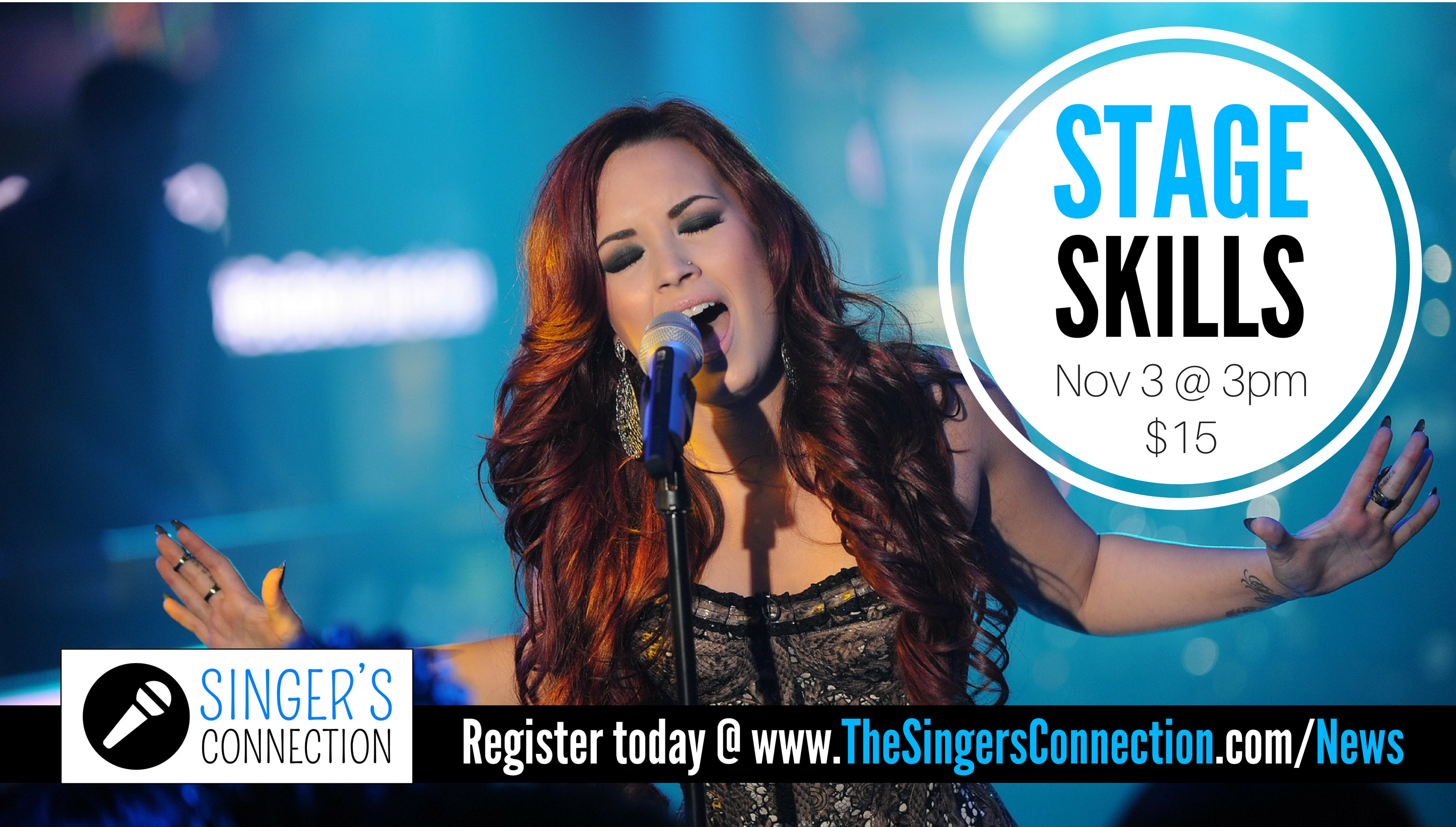 Stage Skills!  Learn the most powerful techniques to take your performance to the next level!