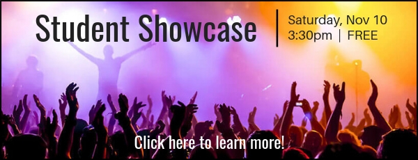 Come perform at our next showcase!