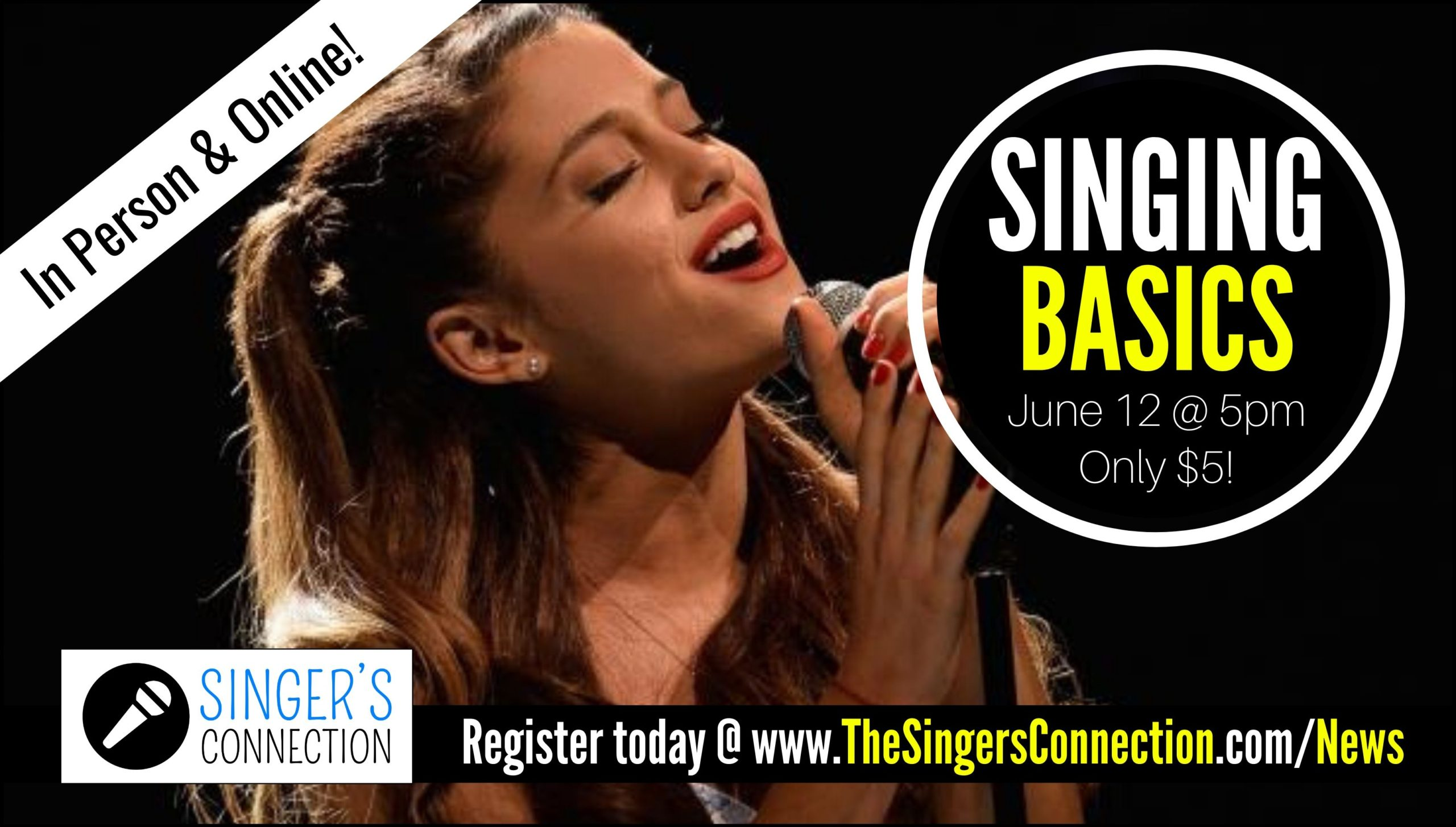 Learn some simple techniques to take your singing to the next level!