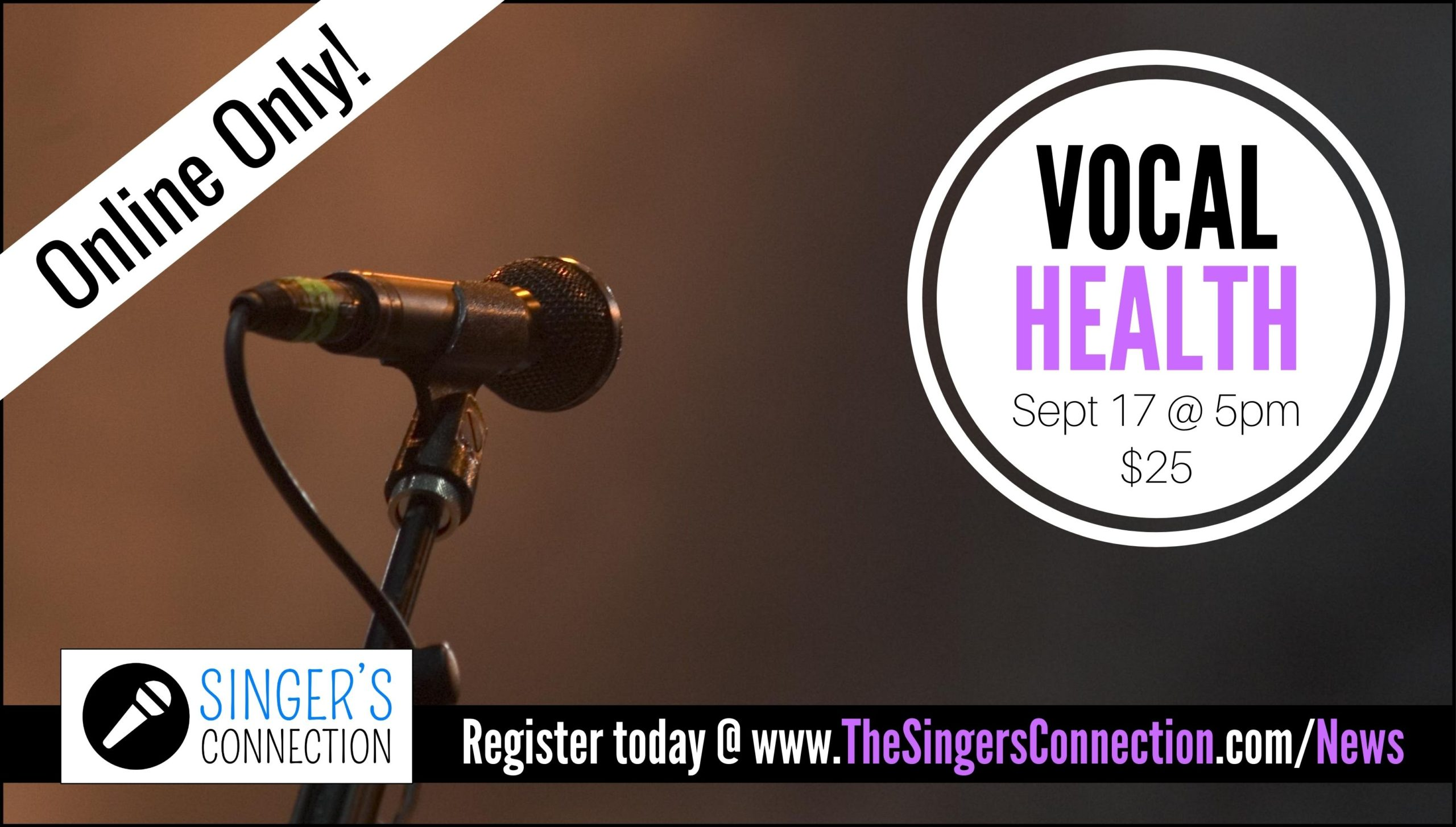 Learn how to keep your voice healthy!